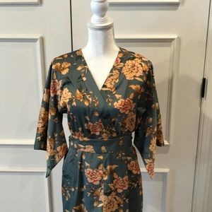 Zara Capri length Jumpsuit